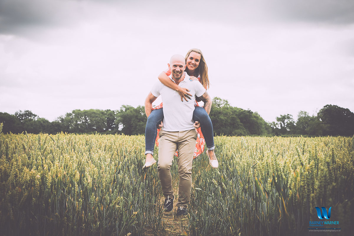 Engagement photo shoot in Surrey