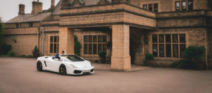 Super Car Wedding photography